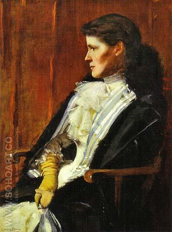 Mrs Henry S Drinker Aimee Ernesta Beaux 1891 - Cecilia Beaux reproduction oil painting