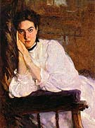 The Dreamer 1893 - Cecilia Beaux reproduction oil painting