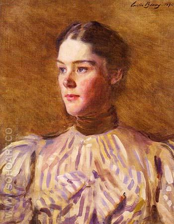 Self Portrait 1894 - Cecilia Beaux reproduction oil painting