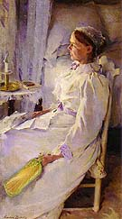 New England Woman 1895 - Cecilia Beaux reproduction oil painting