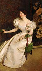Mrs Clement B Newbold Mary Dickinson Scott 1896 - Cecilia Beaux reproduction oil painting