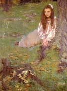 Dorothea in the Woods 1897 - Cecilia Beaux