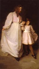 Dorothea and Francesca The Dancing Lesson 1898 - Cecilia Beaux reproduction oil painting
