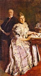 Mr and Mrs Anson Phelps Stokes 1898 - Cecilia Beaux reproduction oil painting