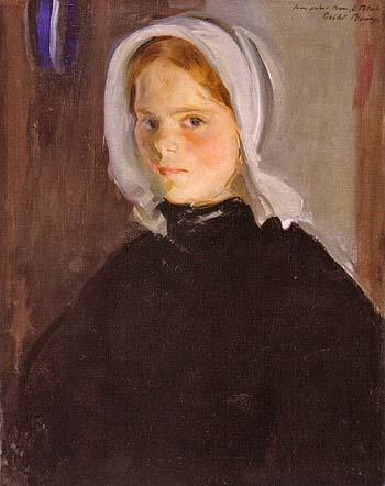 Little Lamerche ca 1900 - Cecilia Beaux reproduction oil painting