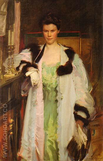 Bertha Hallowell Vaughan 1901 - Cecilia Beaux reproduction oil painting