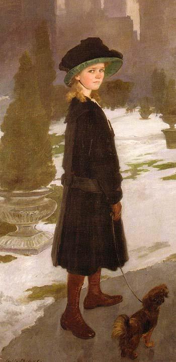 Alice Davison 1909 - Cecilia Beaux reproduction oil painting
