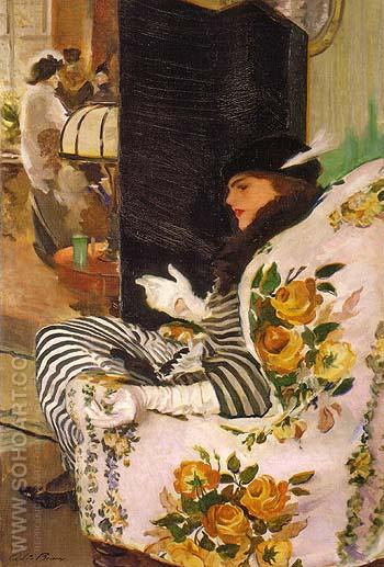 After the Meeting 1914 - Cecilia Beaux reproduction oil painting