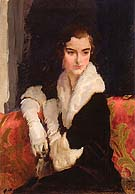 Flora Whitney 1916 - Cecilia Beaux reproduction oil painting