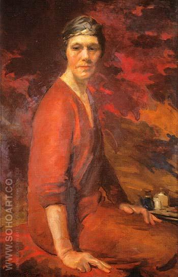 Self Portrait 1925 - Cecilia Beaux reproduction oil painting