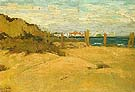 Sand Dunes Santa Monica 1919 - Sam Hyde Harris reproduction oil painting