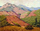 Colorful Mountain Range 1922 - Sam Hyde Harris reproduction oil painting