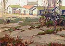 Sunset Beach Depression Days 1925 - Sam Hyde Harris reproduction oil painting