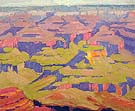 Grand Canyon impression 1920 - Sam Hyde Harris reproduction oil painting