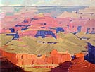 Canyon Rim 1920 - Sam Hyde Harris reproduction oil painting