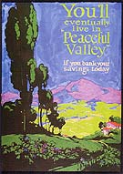 Peaceful Valley 1920 - Sam Hyde Harris reproduction oil painting