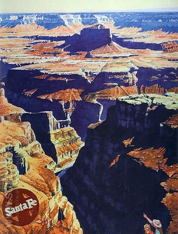 Grand Canyon - Sam Hyde Harris reproduction oil painting