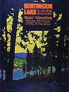 Huntington Lake 1920 - Sam Hyde Harris