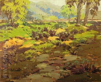 California Spring 1930 - Sam Hyde Harris reproduction oil painting