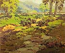 California Spring 1930 - Sam Hyde Harris reproduction oil painting