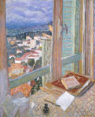 The Window 1925 - Pierre Bonnard reproduction oil painting