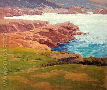 Coastal 1935 - Sam Hyde Harris reproduction oil painting