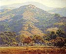 Hills in Spring 1980 - Sam Hyde Harris reproduction oil painting