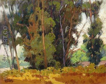 Forest Edge 1935 - Sam Hyde Harris reproduction oil painting