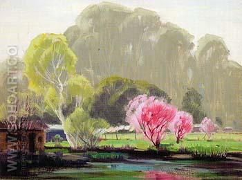 Spring Memory 1948 - Sam Hyde Harris reproduction oil painting