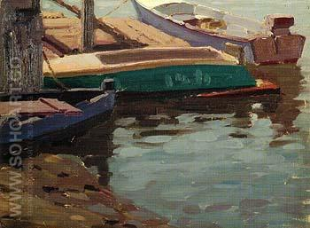 Boat Design - Sam Hyde Harris reproduction oil painting