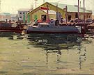 Ship Ahoy - Sam Hyde Harris reproduction oil painting