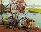 Near Carlsbad - Sam Hyde Harris reproduction oil painting