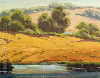 Carlsbad Contrasts - Sam Hyde Harris reproduction oil painting