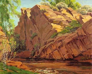 The Narrows - Sam Hyde Harris reproduction oil painting