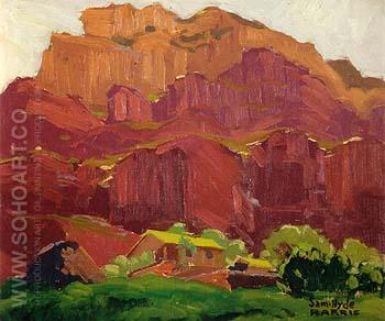 Canyon Shelter - Sam Hyde Harris reproduction oil painting