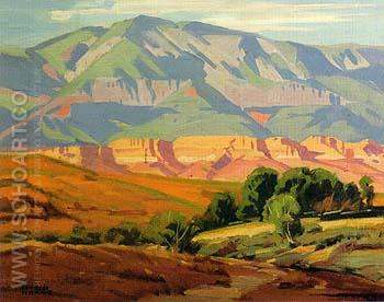 Utah Vista - Sam Hyde Harris reproduction oil painting