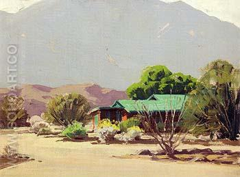 Retreat Cathedral City 1938 - Sam Hyde Harris reproduction oil painting