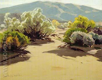 Desert New Year - Sam Hyde Harris reproduction oil painting