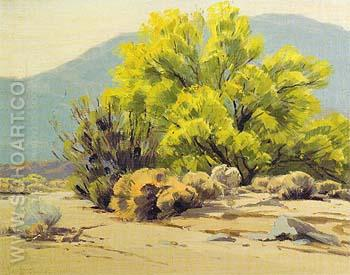Noon Palm Desert - Sam Hyde Harris reproduction oil painting