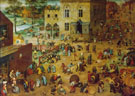 Children's Games 1560 - Bruegel Pieter