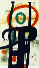 The Big Organizer 1969 - Joan Miro reproduction oil painting