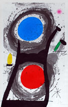 Sun Worshipper 1969 - Joan Miro reproduction oil painting
