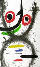 Catch with the Hook 1969 - Joan Miro reproduction oil painting
