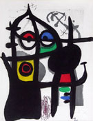 Captive 1969 - Joan Miro reproduction oil painting