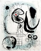 Serie III - Joan Miro reproduction oil painting