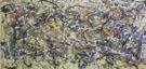 No 8 1949 Full Size - Jackson Pollock