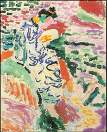 La Japonaise, Woman Beside the Water 1905 - Henri Matisse reproduction oil painting