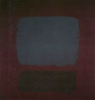 No 37 No 19 (Slate Blue and Brown on Plum) 1958 - Mark Rothko