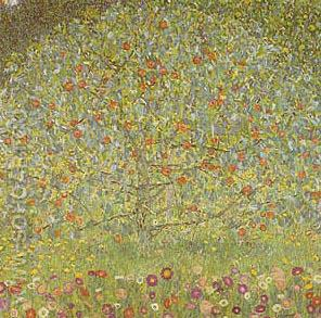 Apple Tree 1912 - Gustav Klimt reproduction oil painting