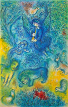 The Magic Flute - Marc Chagall